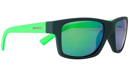Obrázek sluneční brýle BLIZZARD sun glasses POL602-0031 dark grey matt, 67-17-135