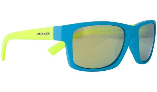 Obrázek z sluneční brýle BLIZZARD sun glasses POL602-0041 light blue matt, 67-17-135, AKCE