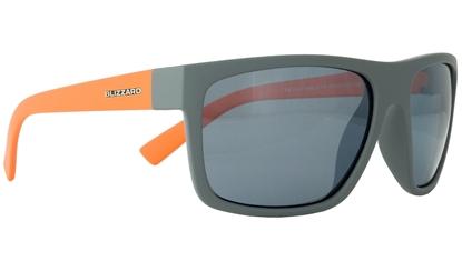 Obrázek sluneční brýle BLIZZARD sun glasses POL603-0071 light grey matt, 68-17-133