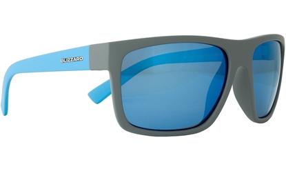Obrázek sluneční brýle BLIZZARD sun glasses POL603-0081 grey matt, 68-17-133