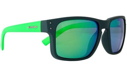 Obrázek sluneční brýle BLIZZARD sun glasses POL606-0021 dark grey matt, 65-17-135