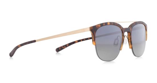 Obrázek z sluneční brýle SPECT SPECT Sun glasses, SOHO-001P, havanna/green gradient with silver flash POL, 52-20-145