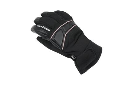 Obrázek lyžařské rukavice BLIZZARD Profi ski gloves, black/silver
