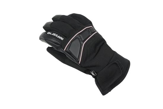 Obrázek z lyžařské rukavice BLIZZARD Profi ski gloves, black/silver, AKCE