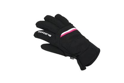 Obrázek lyžařské rukavice BLIZZARD Viva Plose ski gloves, black/white/pink
