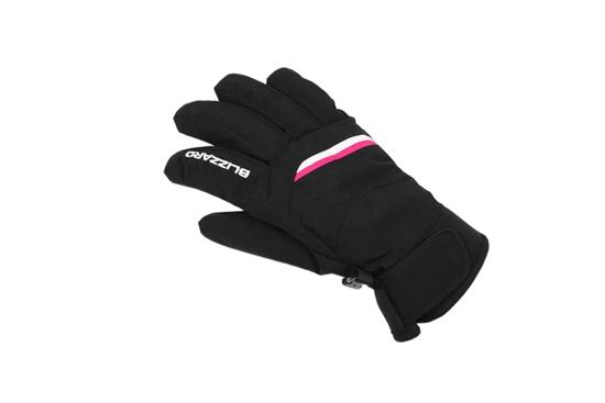 Obrázek z lyžařské rukavice BLIZZARD Viva Plose ski gloves, black/white/pink