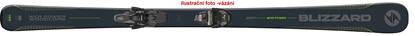 Obrázek sjezdové lyže BLIZZARD WCR Power, black/green, rental, 18/19 + vázání Tyrolia SLR 9.0 AC, 18/19
