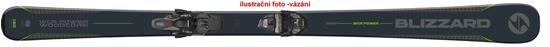 Obrázek z sjezdové lyže BLIZZARD WCR Power, black/green, rental, 18/19 + vázání Tyrolia SLR 9.0 AC, 18/19