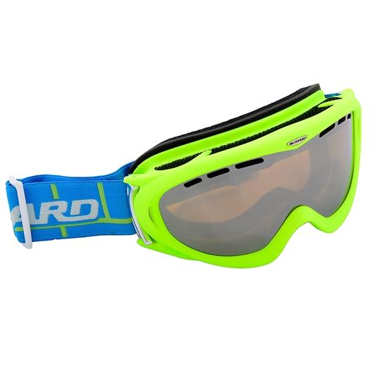 Obrázek z lyžařské brýle BLIZZARD Ski Gog. 905 MDAVZFO, neon green matt, amber2-3, blue mirror, photo