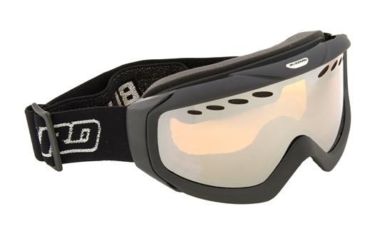 Obrázek z lyžařské brýle BLIZZARD Ski Gog. 906 MDAVZ, black, amber2, silver mirror, rental