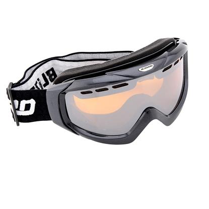 Obrázek lyžařské brýle BLIZZARD Ski Gog. 906 MDAVZF, black matt, amber2-3, silver mirror, photo
