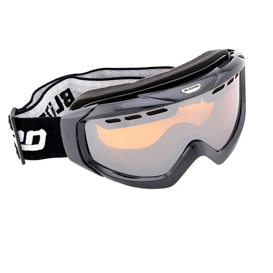 Obrázek z lyžařské brýle BLIZZARD Ski Gog. 906 MDAVZF, black matt, amber2-3, silver mirror, photo, AKCE
