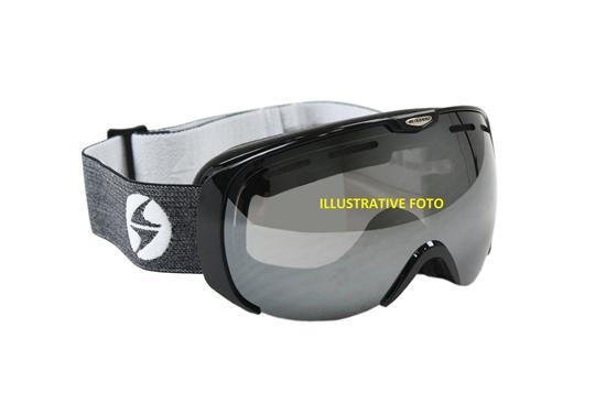Obrázek z lyžařské brýle BLIZZARD Ski Gog. 921 MDAVZWO, black matt, orange2, silver mirror, smart view