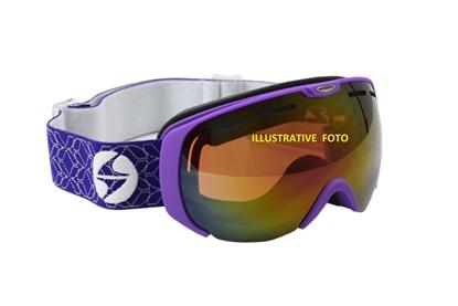 Obrázek lyžařské brýle BLIZZARD Ski Gog. 921 MDAVZSO, violet matt, smoke2, red mirror