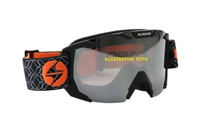 Obrázek lyžařské brýle BLIZZARD Ski Gog. 925 MDAZFO, black matt, amber2-3, silver mirror, photo