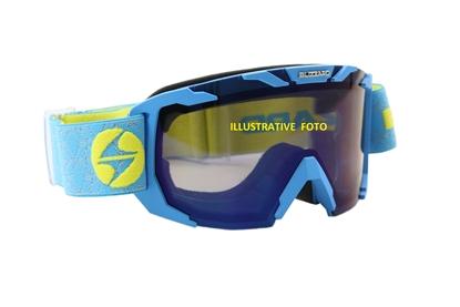 Obrázek lyžařské brýle BLIZZARD Ski Gog. 925 MDAZO, neon blue matt, smoke2, blue mirror