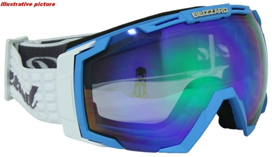 Obrázek z lyžařské brýle BLIZZARD Ski Gog. 926 MDAVZSO, neon blue matt, smoke2, blue mirror