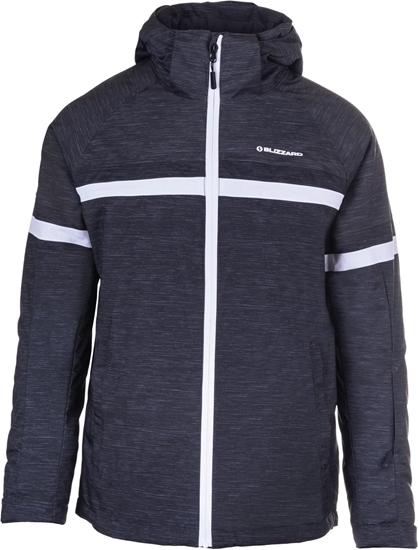 Obrázek z lyžařská bunda BLIZZARD Mens Jacket Arabba, black melange/grey melange/white, AKCE