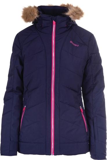Obrázek z lyžařská bunda BLIZZARD Viva Jacket Cortina, dark violet/pink