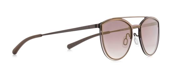Obrázek z sluneční brýle SPECT SPECT Sun glasses, ELECTRA-003, khaki/green gradient with gold flash/khaki, 124-0-140