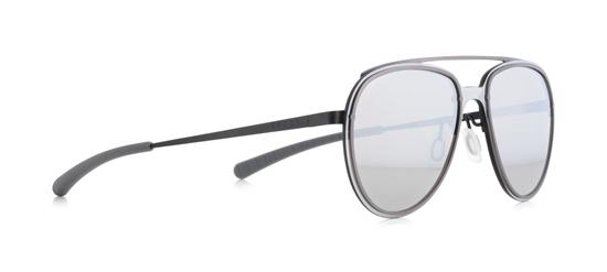 Obrázek z sluneční brýle SPECT SPECT Sun glasses, EVENS-002, black/smoke with silver mirror/anthracite, 130-0-140