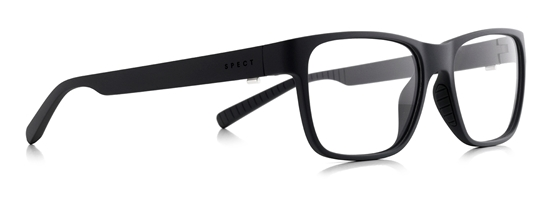 Obrázek z brýlové obruby SPECT Frame, TRUST-001, matt black/black, 53,5-17-145