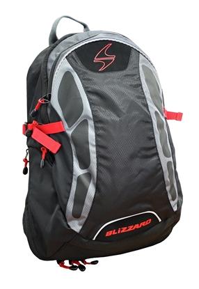 Obrázek batoh BLIZZARD Sport 5+ backpack, black/red, AKCE