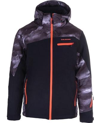 Obrázek bunda BLIZZARD II. quality (design) Mens Jacket Scheffau, grey camo/black/orange