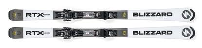 Obrázek sjezdové lyže BLIZZARD RTX Power, white/grey, rental, 18/19 + vázání TLT 10 DEMO, black/anthr., 18/19