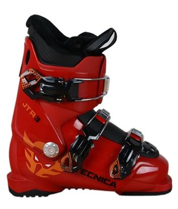 Obrázek lyžařské boty TECNICA JTR 3, deep red, rental, 18/19