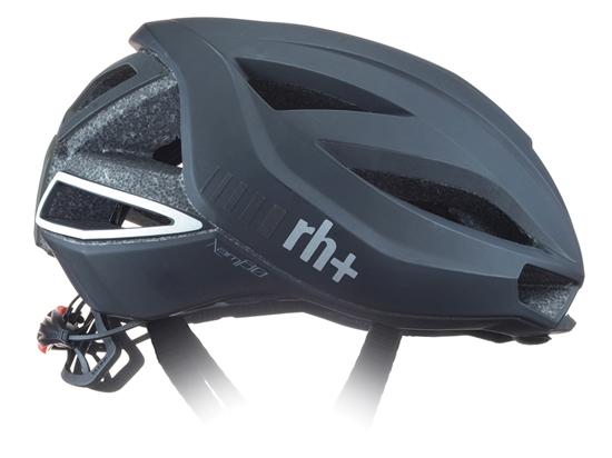 Obrázek z helma RH+ Lambo, matt black/dark grey reflex
