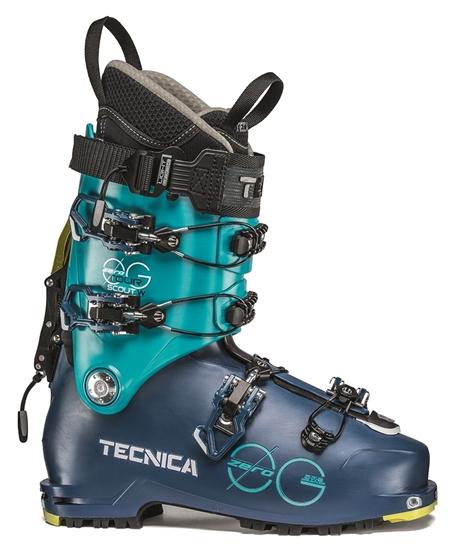Obrázek z lyžařské boty TECNICA Zero G Tour Scout W, ocean blue/blue bird, 19/20