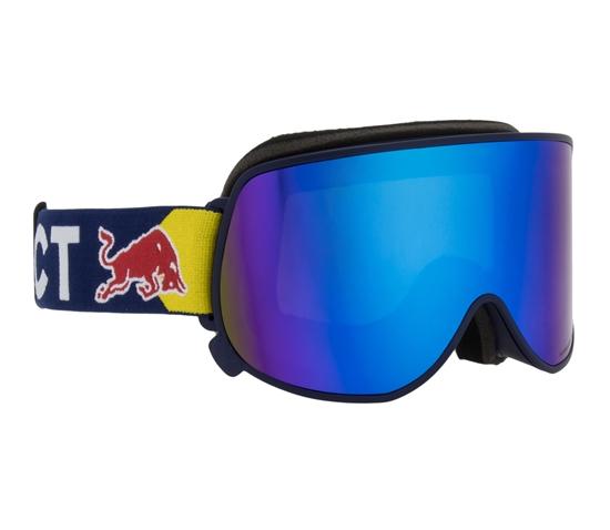 Obrázek z lyžařské brýle RED BULL SPECT Goggles, MAGNETRON EON-007, matt dark blue frame/blue headband, lens: blue snow CAT3