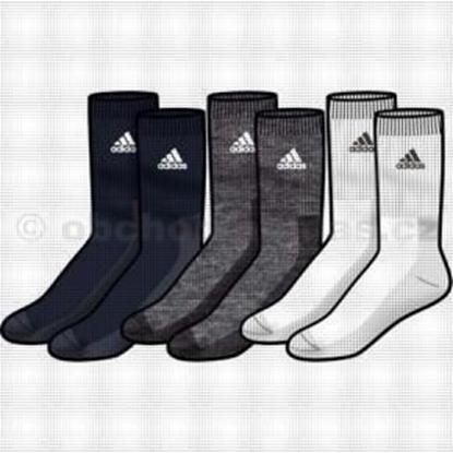 Obrázek ADIDAS P40716 CR H 3P sada ponožky