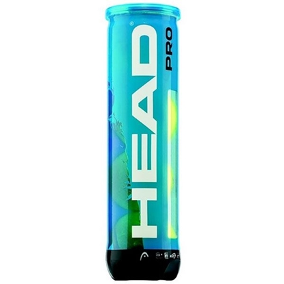 Obrázek HEAD PRO 4ks BLUE tenisové míče