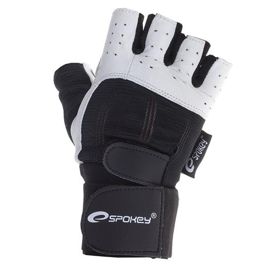 Obrázek z SPOKEY GUANTO fitness rukavice na posilování pánské