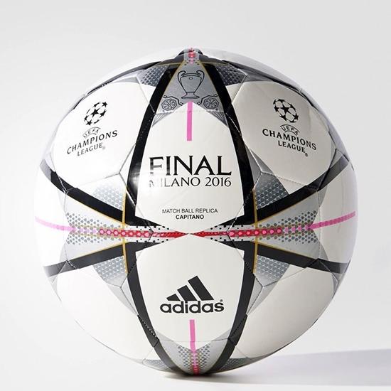 Obrázek z ADIDAS FINALE MILANO CAPITANO fotbalový míč