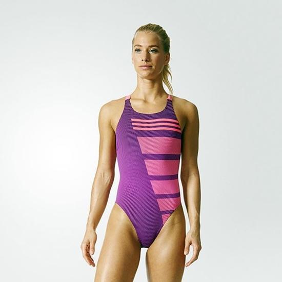Obrázek z ADIDAS INFNITEX COLOUBLOCK SWIMSUIT dámské plavky