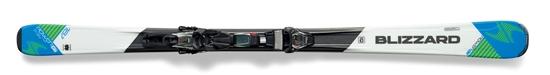 Obrázek z set sjezdové lyže BLIZZARD Power X7 IQ, white/blue + vázání IQ TP 10 CM2