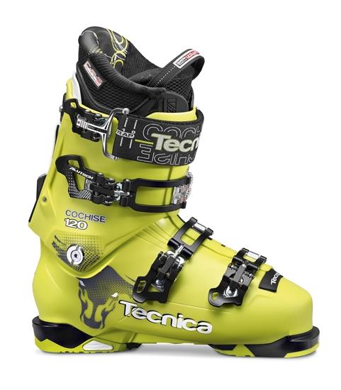 Obrázek z lyžařské boty TECNICA Cochise 120, light acid green