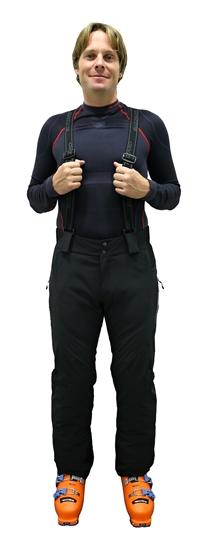 Obrázek z lyžařské kalhoty BLIZZARD Race Ski Pants, black/silver