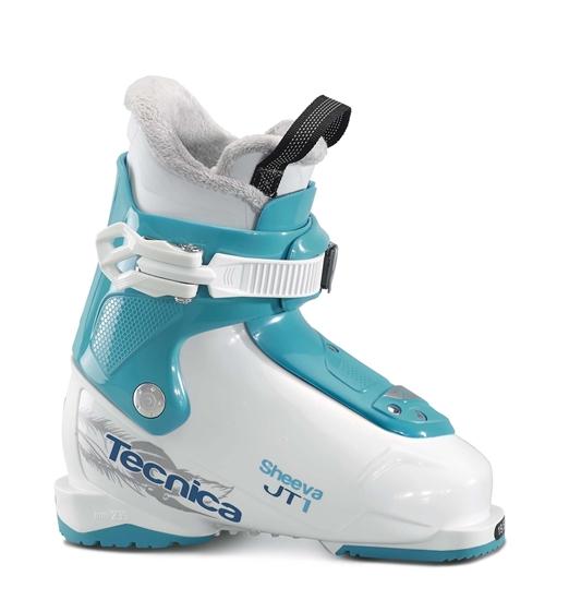 Obrázek z lyžařské boty TECNICA JT 1 Sheeva, white/blue bird