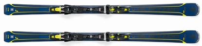 Obrázek set sjezdové lyže BLIZZARD Quattro 7.4 Ti, blue/yellow + TCX 12 DEMO, bl./ant./yell.