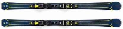 Obrázek set sjezdové lyže BLIZZARD Quattro 8.0 Ti, blue/yellow + TCX 12 DEMO, bl./ant./yell.