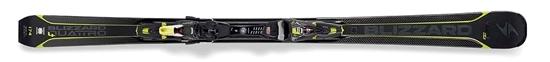 Obrázek z set sjezdové lyže BLIZZARD Quattro 8.4 Ti, 17/18 + binding XCELL 12 DEMO, black/anthracite/lime, 17/18
