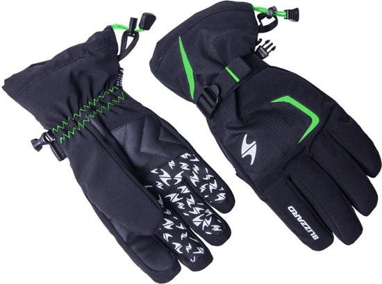 Obrázek z lyžařské rukavice BLIZZARD Reflex, black/green