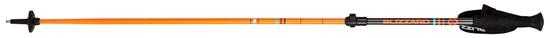 Obrázek z lyžařské hůlky BLIZZARD Race telescopic 2 section ski poles, carbon/neon orange