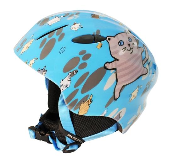 Obrázek z helma BLIZZARD Magnum ski helmet junior, blue cat shiny