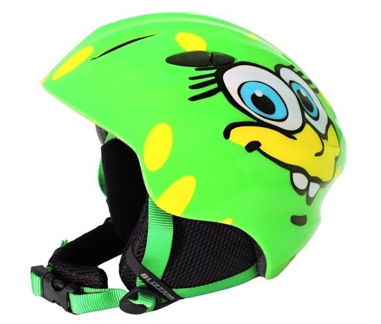 Obrázek z helma BLIZZARD Magnum ski helmet junior, green cheese shiny