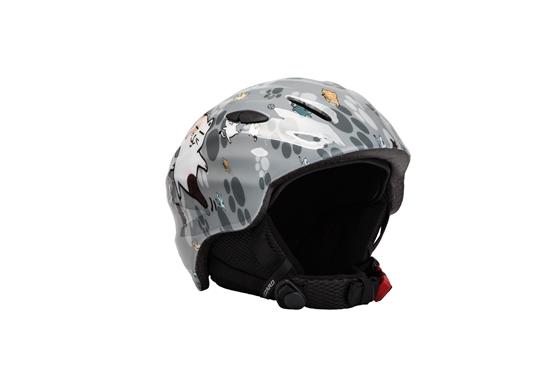 Obrázek z helma BLIZZARD Magnum ski helmet junior, grey cat shiny